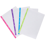 COLOURHIDE MY COLOURCODED LOOSELEAF PAPER REFILLS 200 PAGE A4 ASSORTED