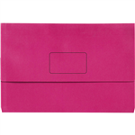 INITIATIVE DOCUMENT WALLET 345 X 225MM PINK PACK 50