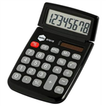 MARBIG CALCULATOR POCKET 8 DIGIT BLACK