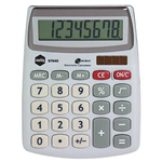MARBIG DESKTOP CALCULATOR 8 DIGIT SILVER