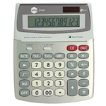 MARBIG DESKTOP CALCULATOR 12 DIGIT SILVER