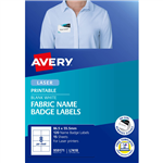 AVERY 959171 L7418 FABRIC NAME LABELS 8UP 865 X 555MM PACK 15