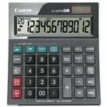CANON AS220RTS ARC DESKTOP CALCULATOR 12 DIGIT GREY