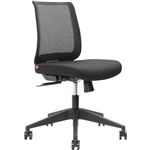 BRINDIS TASK CHAIR LOW MESH BACK BLACK