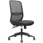 BRINDIS TASK CHAIR HIGH MESH BACK BLACK