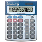 CANON LS100TS DESKTOP CALCULATOR 10 DIGIT SILVER