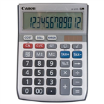 CANON LS121TS DESKTOP CALCULATOR 12 DIGIT SILVER