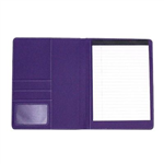 CUMBERLAND COM124 MAJESTIC CONFERENCE FOLDER PU WITH PAD AND PEN LOOP A4 BLACKPURPLE