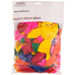 CUMBERLAND BALLOONS 300MM ASSORTED PACK 100