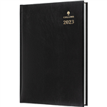 COLLINS 2021 STERLING DIARY DAY TO PAGE 30 MINUTE A4 BLACK