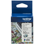 BROTHER CZ1005 LABEL ROLL 50MM X 5M WHITE