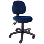 INITIATIVE OPERATOR CHAIR MEDIUM BACK 3 LEVER BLUE