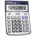 CANON HS1200TS DESKTOP CALCULATOR 12 DIGIT SILVER