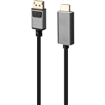 KLIK DISPLAYPORT MALE TO HDMI MALE CABLE 2M