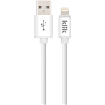 KLIK APPLE LIGHTNING TO USB SYNC CHARGE CABLE 3000MM WHITE