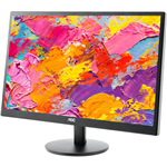 AOC E2470SWH 236 INCH FULL HD COMPUTER MONITOR HDMIDVIVGA WITH TILT AND SPEAKERS BLACK