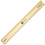 MICADOR ESSENTIAL RULER UNPOLISHED WOOD 300MM