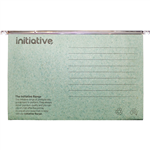 INITIATIVE EASYGLIDE SUSPENSION FILES FOOLSCAP GREEN BOX 50