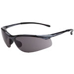 BOLLE SAFETY CONTOUR SFAETY GLASSES SMOKE LENS