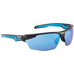 BOLLE SAFETY TRYON SAFETY GLASSES BLUE FLASH LENS