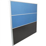 RAPID SCREEN 1500 X 1650MM LIGHT BLUE