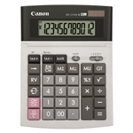CANON WS1210HI III DESKTOP CALCULATOR 12 DIGIT GREY