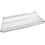 ACERACK WIRE SHELVING 4 SHELF 1800 X 1500MM CHROME