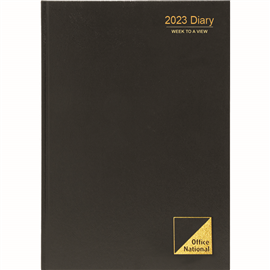 OFFICE NATIONAL 2021 DIARY WEEK TO VIEW 1 HOUR A4
