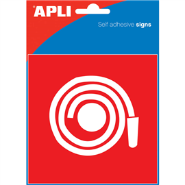 APLI FIRE HOSE SELF ADHESIVE SIGN