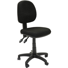 INITIATIVE OPERATOR CHAIR MEDIUM BACK 3 LEVER SF BLACK